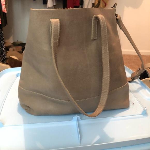 b393fcdfad25 ABLE Bags | Handbag Abera Crossbody Tote | Poshmark